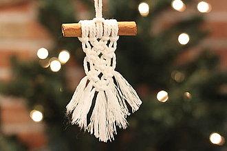 Dekorácie - Homemade vianočné ozdoby - 12509724_