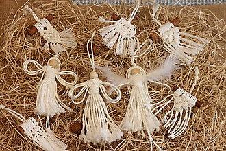 Dekorácie - Darčeková sada prírodných vianočných ozdôb 20 ks - 12509864_