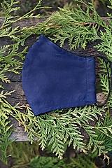 Rúška - Pánske rúško modré - 12512916_