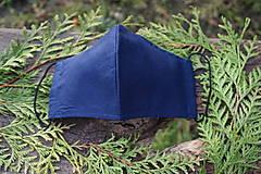 Rúška - Pánske rúško modré - 12512917_