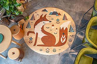 Úžitkový textil - Korkový koberec FOX - 12513810_