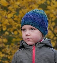 Detské čiapky - Melírová kráska 100% merino - 12512751_