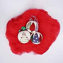 Dekorácie - Vianočná guľa - stromčeky - 12511718_