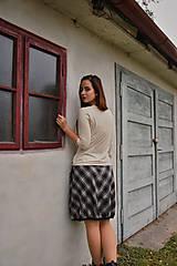 Sukne - Balonová sukně Plaid - 12513334_