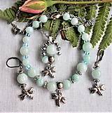 Sady šperkov - Exkluzívny akvamarín - 12515916_