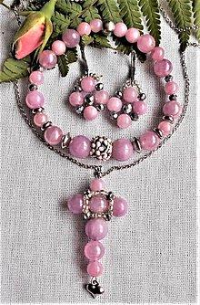 Sady šperkov - Lila Jades - 12515943_