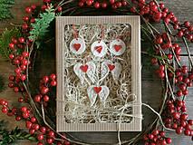 Dekorácie - Ozdoby na vianočný stomček v darčekovom balení - 12516178_
