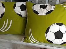 Úžitkový textil - Vankúše futbalky - 12517942_