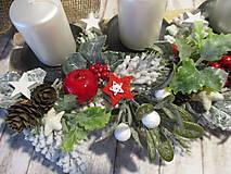 Dekorácie - Adventný svietnik - 12514673_