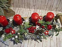 Dekorácie - Adventný svietnik - 12514679_