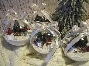 Dekorácie - Vianočná guľa - 12515716_