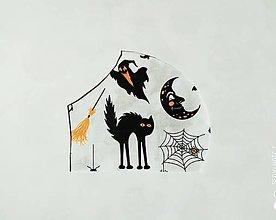 Rúška - Halloween rúško, antibakteriálne na výber - 12515917_