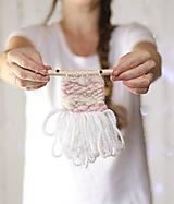 Dekorácie - Ručne tkaná vlnená tapiséria - mini - 12514638_