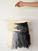 Dekorácie - Ručne tkaná vlnená tapiséria - 12514988_