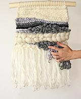 Dekorácie - Ručne tkaná vlnená tapiséria - 12515043_