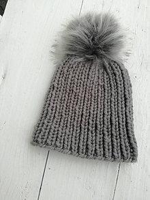 Čiapky - Dámska čiapka - 12514704_