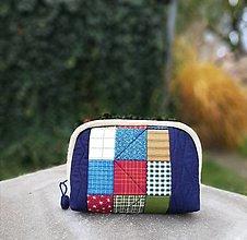 Taštičky - taštička patchwork - 12515571_