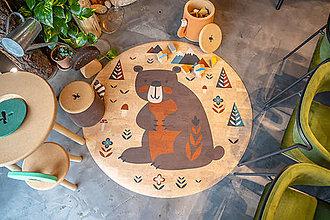 Úžitkový textil - Korkový koberec BEAR - 12517033_