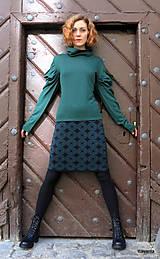 Sukne - NATALA - pletená sukně nad kolena - rovná - 12515770_