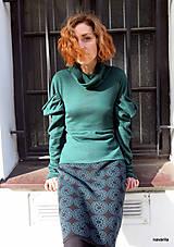 Sukne - NATALA - pletená sukně nad kolena - rovná - 12515776_