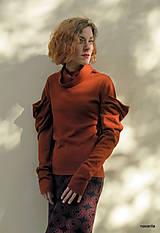 Sukne - NATALA - pletená sukně nad kolena - rovná - 12515779_