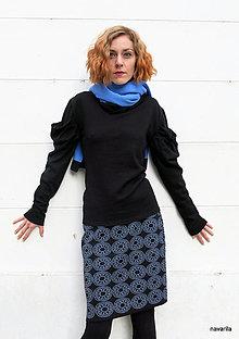 Sukne - NATALA - pletená sukně nad kolena - rovná - 12515771_