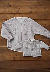Detské oblečenie - Kabátik Rudy mini - 12517002_