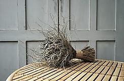 Dekorácie - Sušená kytica šalvie - 12516460_