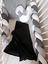 Textil - Pletený mantinel - pletenec - 12514583_