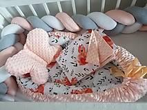 Textil - Pletený mantinel - pletenec - 12514602_