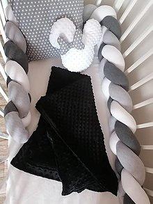 Textil - Pletený mantinel - pletenec  (1m) - 12514583_