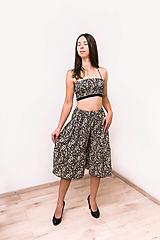 Iné oblečenie - Upcyklovaný dvojdielny set - nohavice a lambáda top - 12519467_