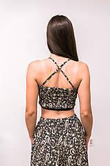 Iné oblečenie - Upcyklovaný dvojdielny set - nohavice a lambáda top - 12519472_