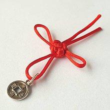 Darčeky pre svadobčanov - Uzlík šťastia a prosperity - 12520474_