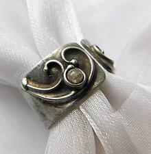 Prstene - Prsteň s achroitom § STEFFIE § - 12524174_