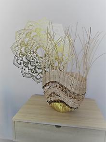 Dekorácie - Netradičný košík - dekorácia - 12520870_