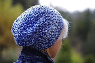 Čiapky - čiapka modré nebo:) - 12521425_