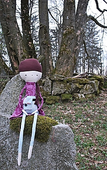 Hračky - Lesná víla s kapsičkou na lesné poklady - 70 cm - 12522851_