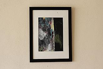 Obrazy - chaos vs. poriadok . kresba/maľba na výkrese . A4 . - 12521018_