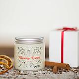 AKCIA - Sviečka zo 100% sójového vosku - Vianočný Darček