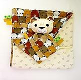 Detská deka - Smotanová z Medveďova