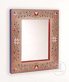 Detské doplnky - Zrkadlo s ručnou maľbou Fairy tale (rôzne veľkosti) - 12521489_