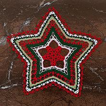 """Úžitkový textil - Čipka  """"Hviezdička"""" - 12523581_"""