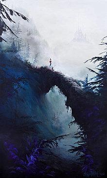 "Obrazy - ""Most"" REPRODUKCIA 45cm x 75cm - 12524403_"