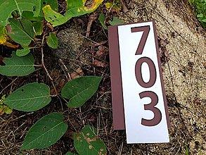 Tabuľky - Popisné číslo Exklusiv (4 čísla) - 12524925_