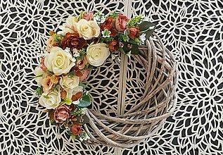 Dekorácie - Jesenný venček na dvere - 12520724_