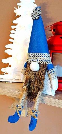 Dekorácie - Vianočný škriatok pre chlapčeka - 12520651_