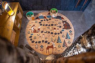 Úžitkový textil - Korkový koberec FOREST - 12521930_