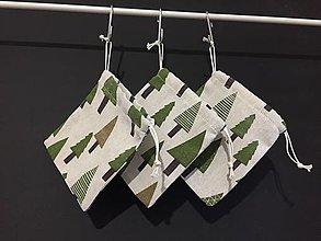 Úžitkový textil - vrecúško stromy - 12524629_