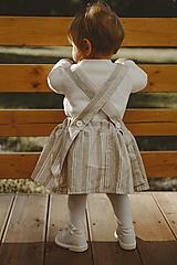 Detské oblečenie - Suknička na traky - 12520580_